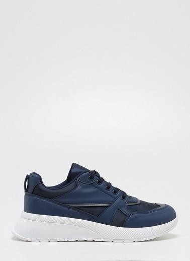 F By Fabrika Fabrika Sentetik Ve Deri Karışımlı Bağcıklı Renk Teodor Erkek Sneaker Lacivert